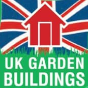 UK garden buildings logo